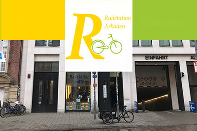 Eröffnung Radstation